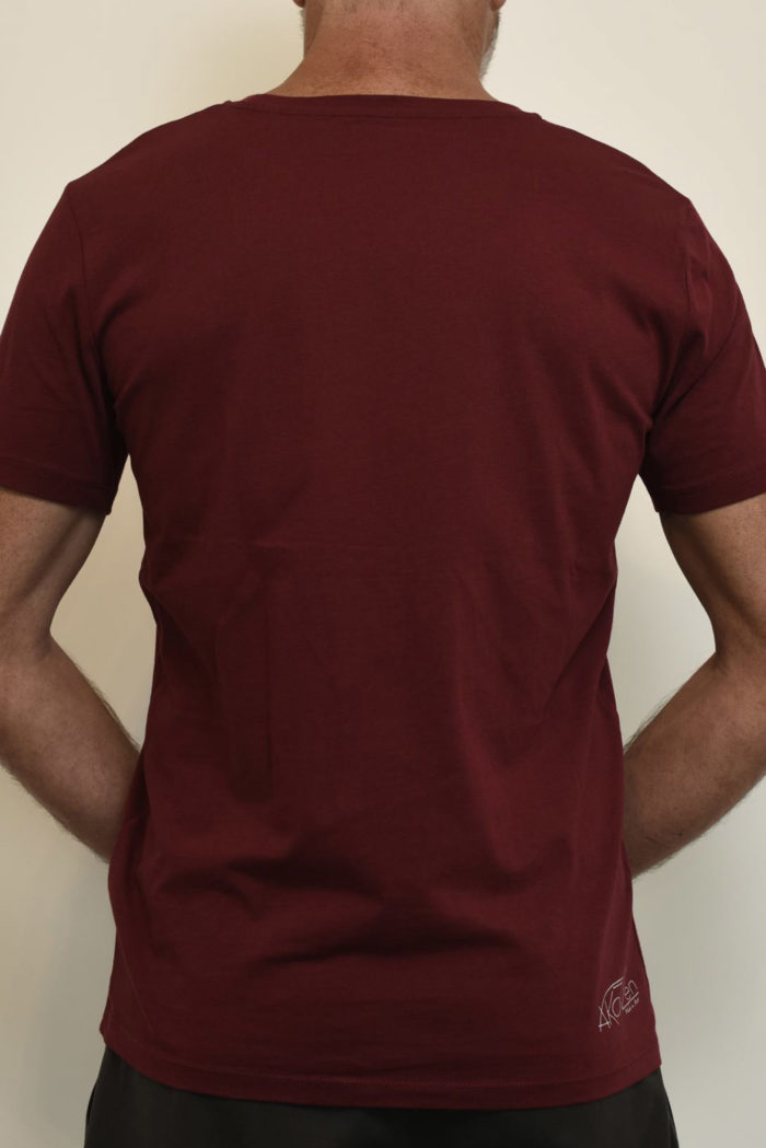 t shirt homme rouge
