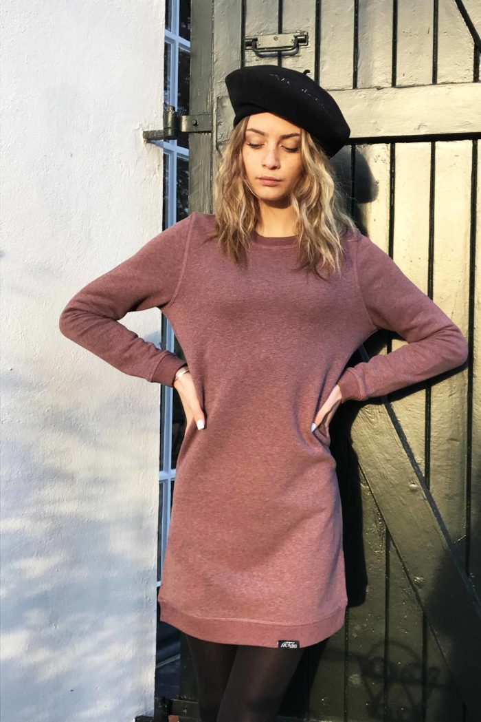 robe pull manches longues