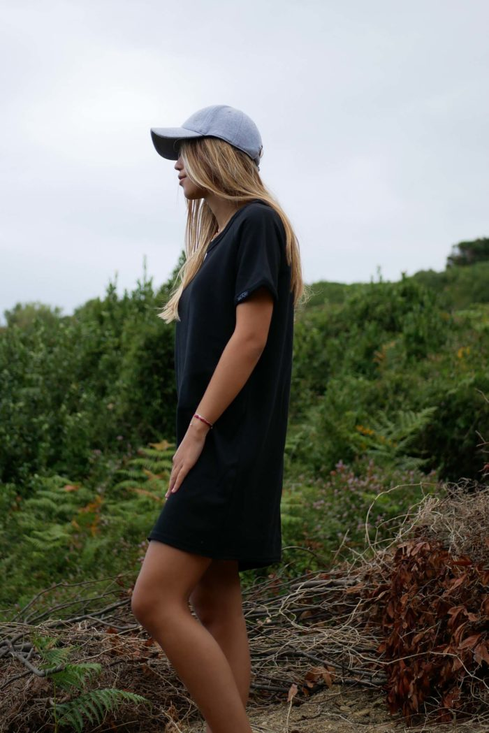 robe sweat manches courtes