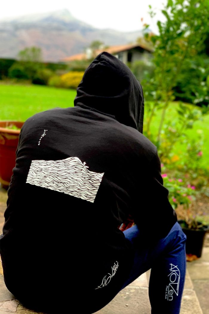 sweat polaire noir